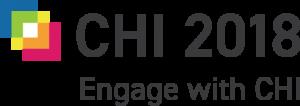 CHI 2018 logo