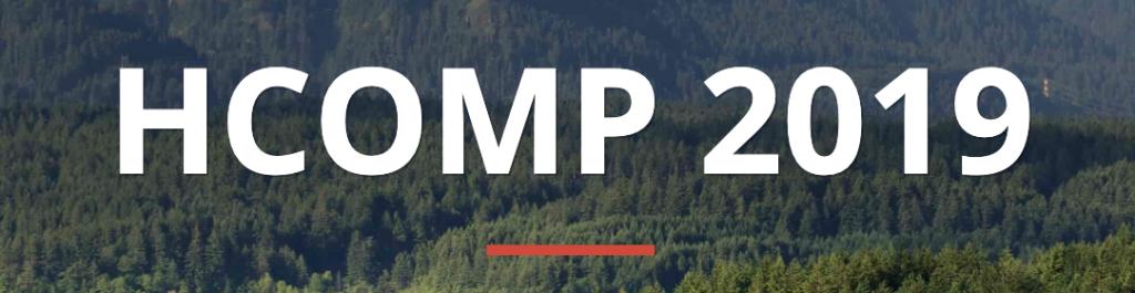 HCOMP 2019 logo